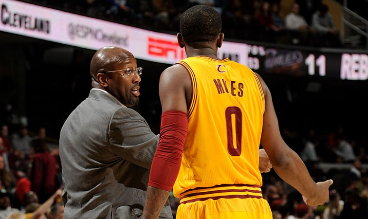 Mike Brown and CJ Miles