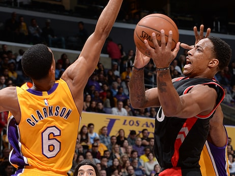 Game Preview: Raptors at Lakers