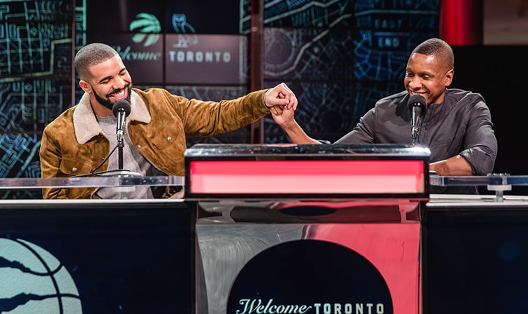 Drake and The Raptors Partnership Continues To Expand