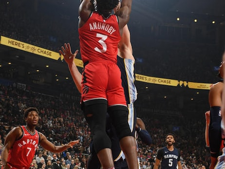 Photo Gallery: Raptors vs. Grizzlies 02/04/18