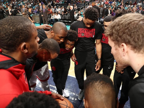 Photo Gallery: Raptors @ Hornets 02/11/18