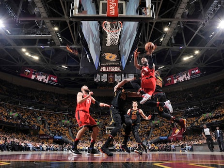 Photo Gallery: Raptors @ Cavs - Game 4