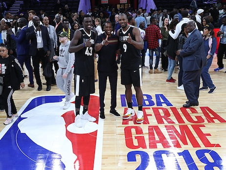 Siakam and Ibaka Suited Up For Team Africa