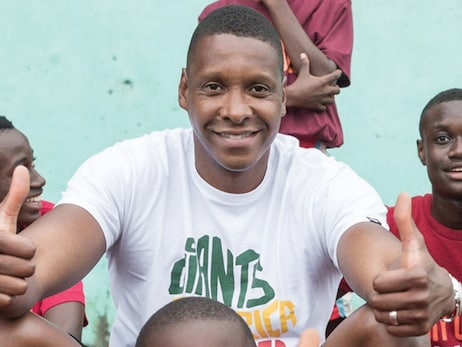 Masai Ujiri's Giants of Africa Builds Basketball Court in Kenya for Next Generation Youth