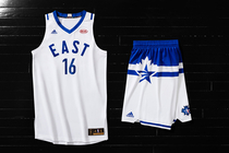 5be56028e Adidas   NBA Unveil NBA All-Star 2016 Uniforms
