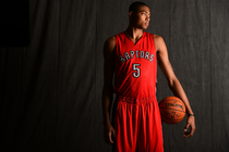 Bruno Caboclo At 2014 NBA Rookie Photo Shoot