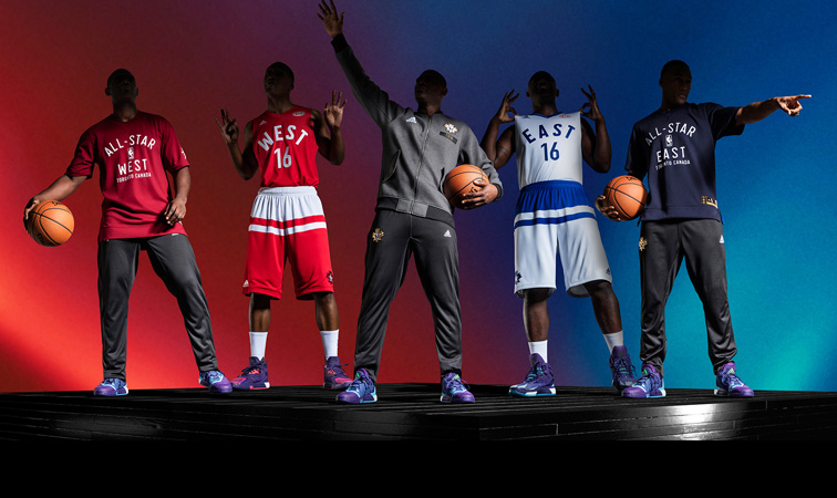 a2243ebdb Adidas   NBA Unveil NBA All-Star 2016 Uniforms