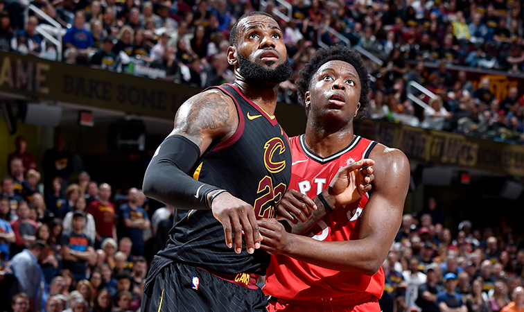 ae66528eb88a 2018 Playoffs  Game 4 Preview - Raptors at Cavaliers