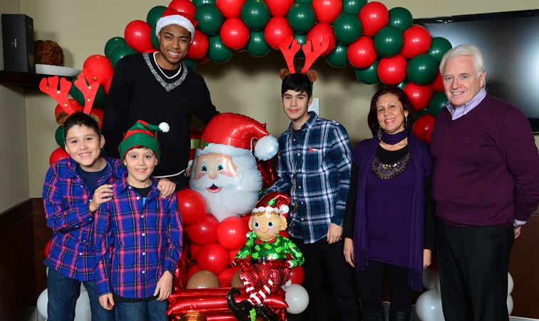 Raptors Holiday Party