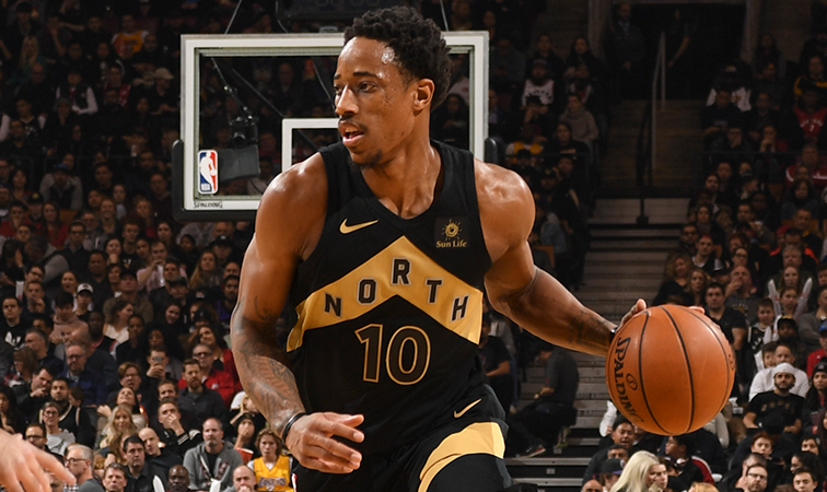 DeRozan Named Eastern Conference Player Of The Month ...