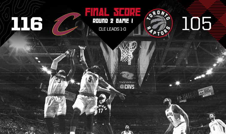 James, Cavaliers roll past Raptors in opener