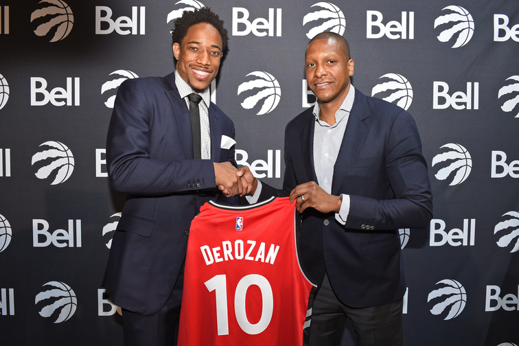 Jared Sullinger and DeMar DeRozan Sign Contracts with Toronto Raptors