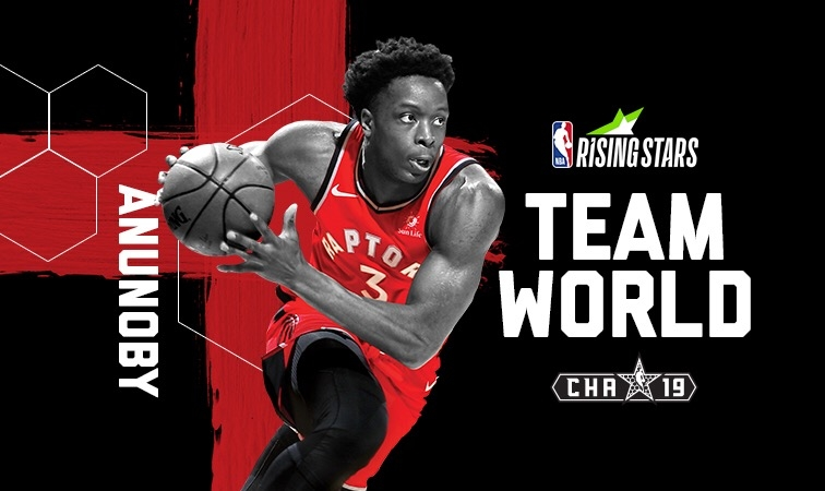 Raptors forward OG Anunoby named to Rising Stars for National Basketball Association  all-star weekend