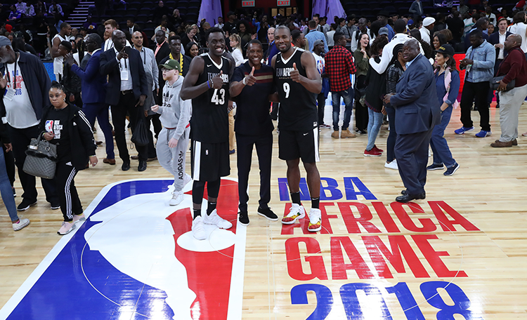 b29a6939bb2 Siakam and Ibaka Suited Up For Team Africa | Toronto Raptors