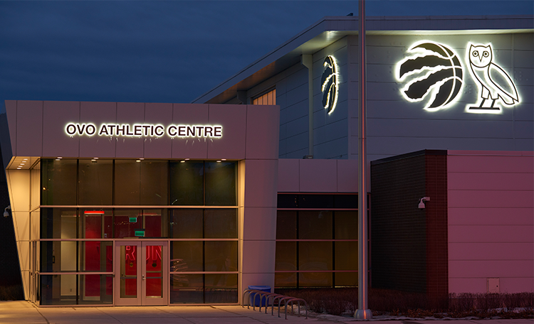 83ba57ff04d4 Raptors and OVO Elevate Partnership with OVO Athletic Centre Naming Rights  Deal