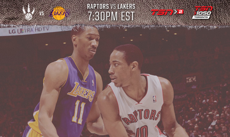 Lakers Vs Raptors Detail