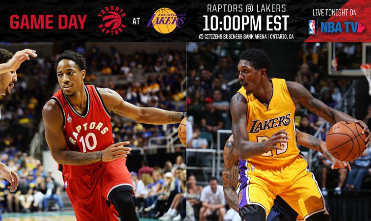 Raptors Vs Lakers Pinterest: Game Day: Raptors @ Lakers