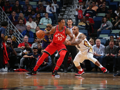 Photo Gallery: Raptors @ Pelicans 11/15/17