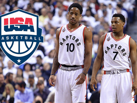 Lowry & DeRozan Named To USA Basketball's 2016 U.S. Olympic Team