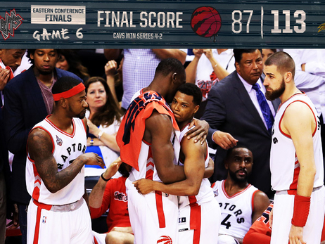 ECF Game 6: Raptors 87, Cavs 113