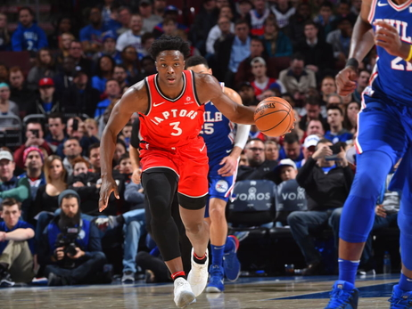 Photo Gallery: Raptors @ Sixers 01/15/18