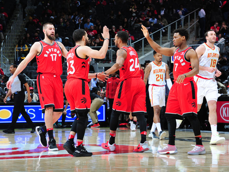 Photo Gallery: Raptors @ Hawks 01/24/18