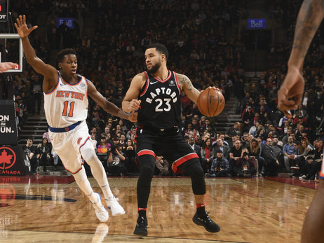 Photo Gallery: Raptors vs. Knicks 02/08/18