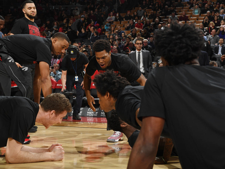 Photo Gallery: Raptors vs. Heat 02/13/18