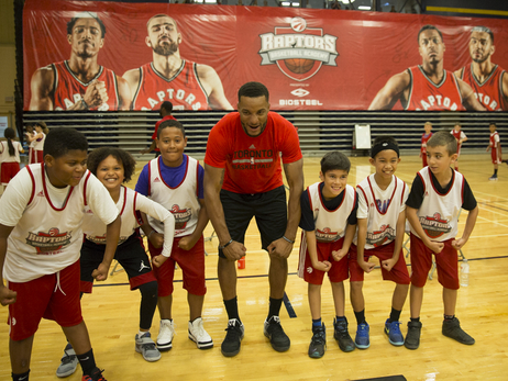 Norman Powell Making Friends At Raptors Basketball Academy, Embracing Offseason Training
