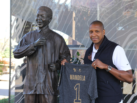 Photo Gallery: Ujiri Honoured At Nelson Mandela Centre of Memory