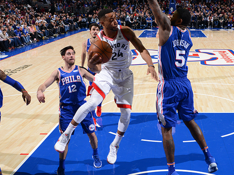 Game Preview: Raptors at 76ers