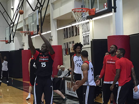 Raptors Practice Blog: October 27, 2015