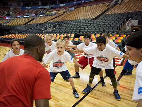 Photo Gallery: Raptors Clinics
