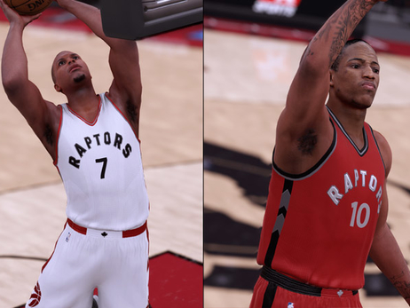 Raptors Unveil New Uniforms