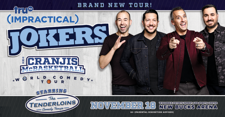 Impractical Jokers – The Cranjis McBasketball World Comedy Tour