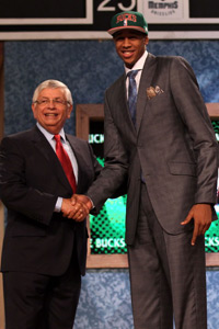 John Henson Draft Photo