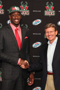 Larry Sanders Draft Photo