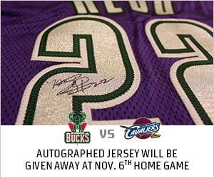 Win an autographed jersey by attending the Nov 6 game