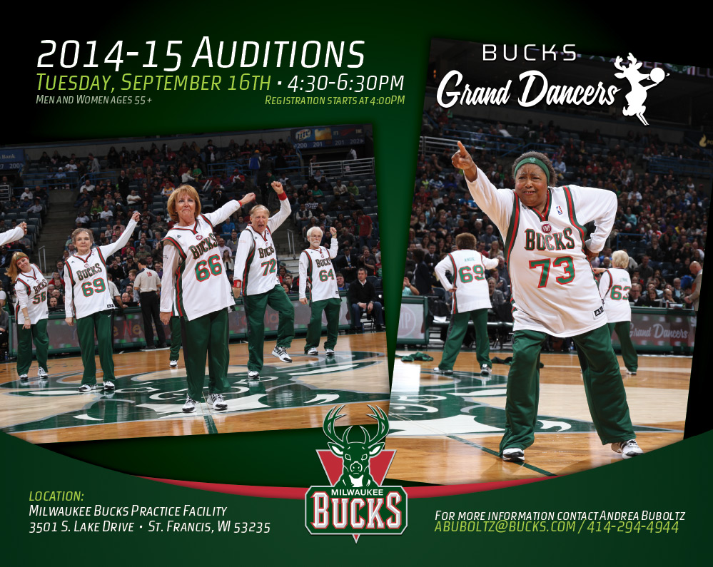 Grand Dancers Auditions