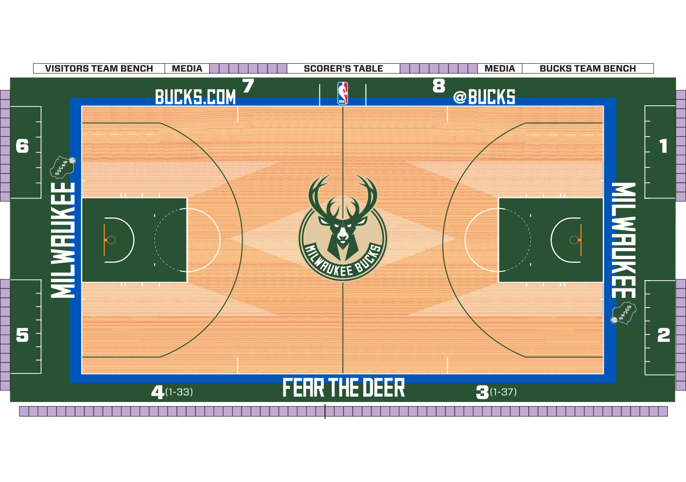 milwaukee bucks playoff schedule 2020