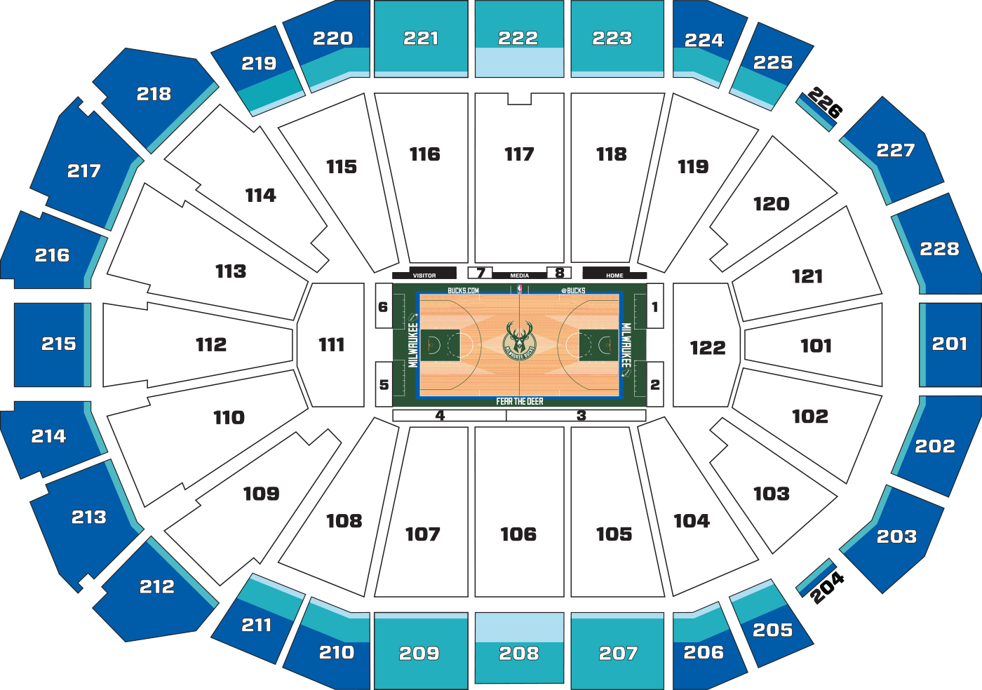 Tickets full 2018 19 milwaukee bucks