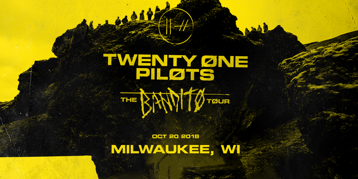 Twenty One Pilots – THE BANDITØ TØUR