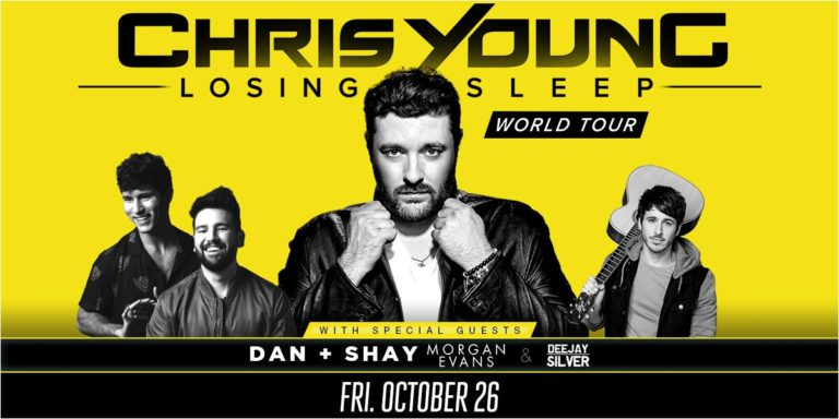 Chris Young – Losing Sleep World Tour