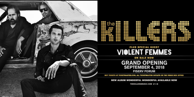 The Killers: Fiserv Forum Grand Opening