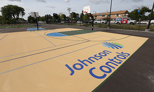 Johnson Controls Court 1