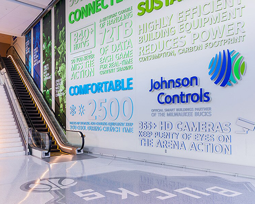 Johnson Controls Entrance