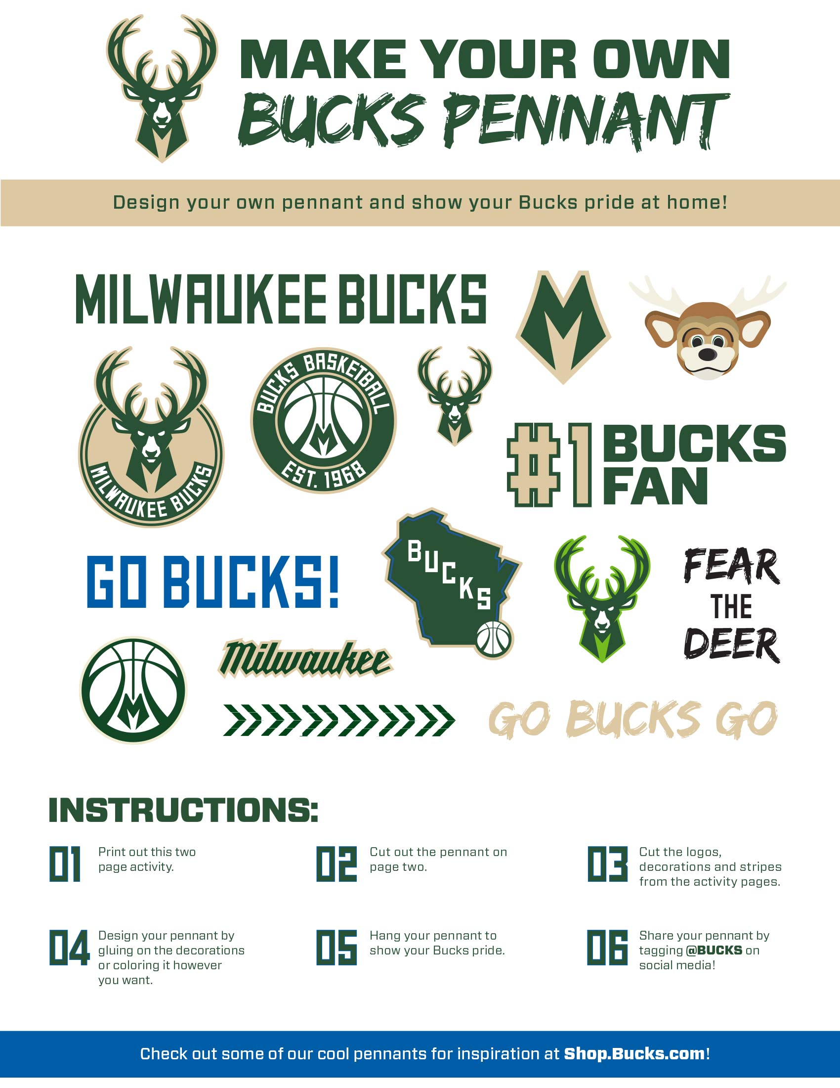Bucks Kids Pages Pennant