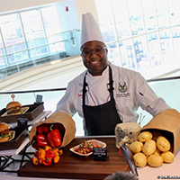Curated Dinner Package for Eight with Fiserv Forum Senior Executive Chef Kenneth Hardiman