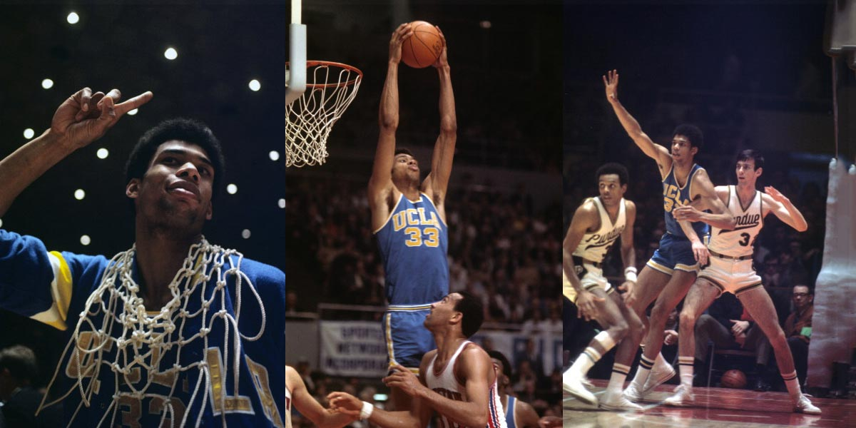UCLA A Basketball Powerhouse Who Won Seven Consecutive NCAA Titles Between 1967 1973 Had 10 Players On The List Including Player Of Century