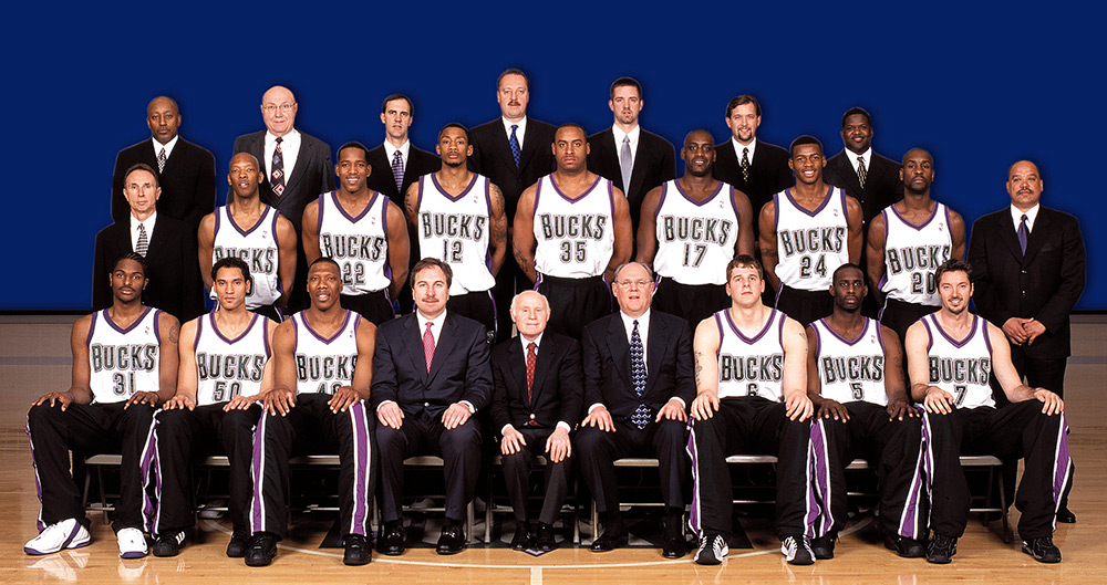 Milwaukee Bucks 2002-03 Team Photo
